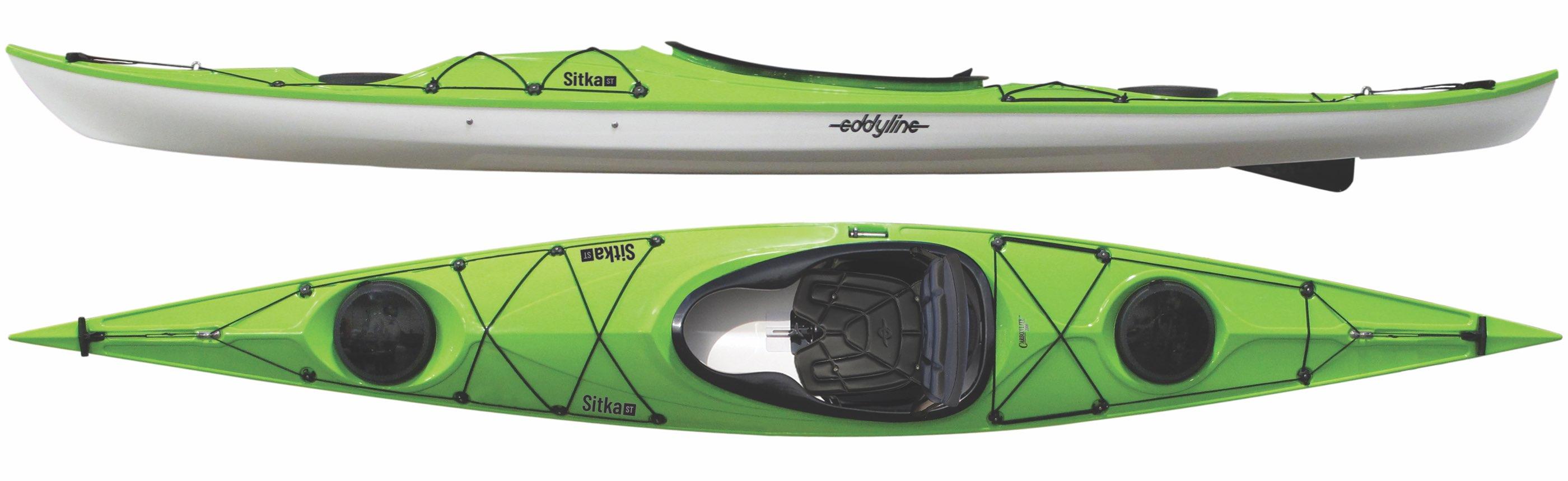 Kayaks: Sitka ST by Eddyline Kayaks - Image 3386