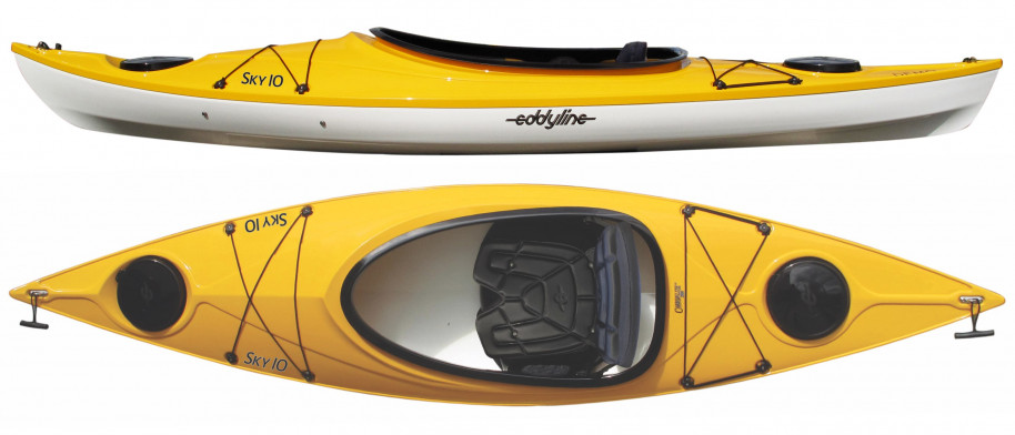 Kayaks: Sky 10 by Eddyline Kayaks - Image 3291