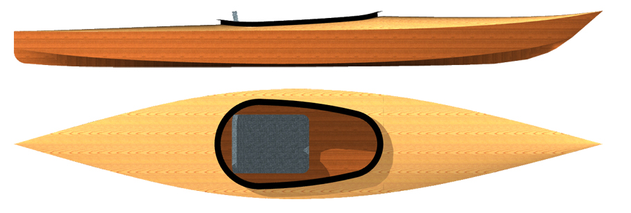 Kayaks: Little Lake by Otto Vallinga Yacht Design - Image 2685