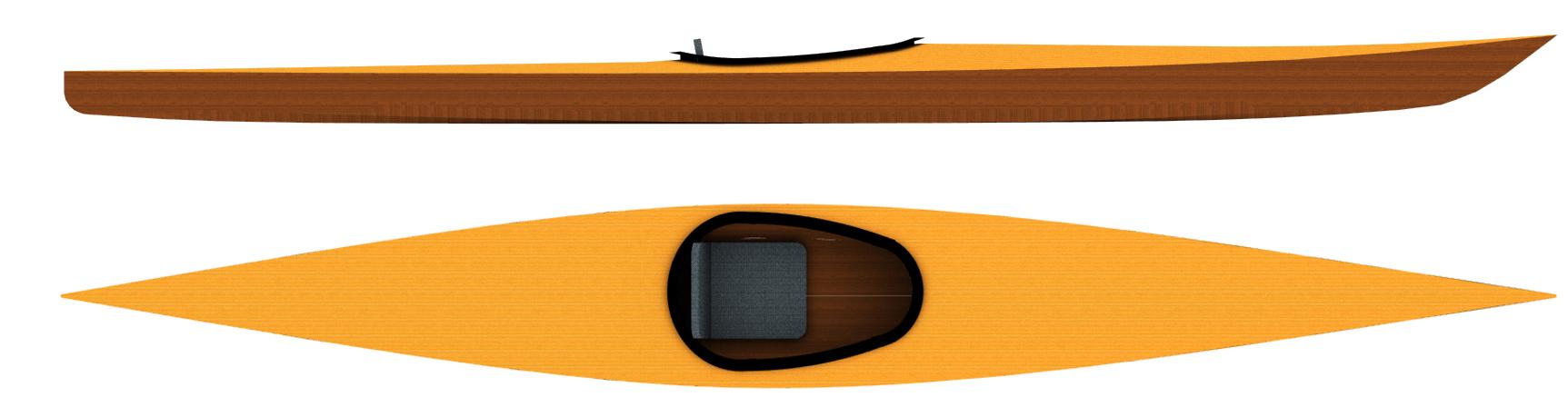 Kayaks: Sport 17 by Otto Vallinga Yacht Design - Image 3397