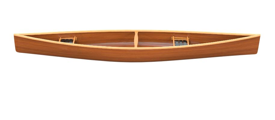 Canoes: Touring 15.7 by Otto Vallinga Yacht Design - Image 2102