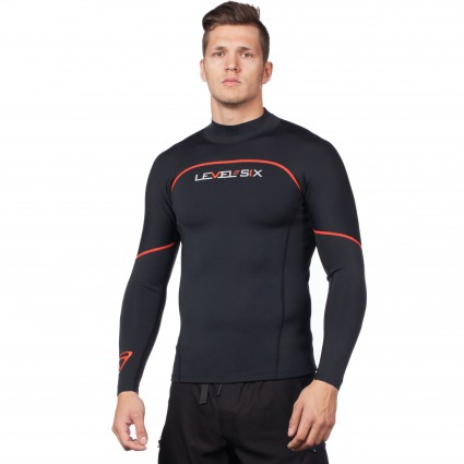 Wetsuits & Neoprene: Jericho Long Sleeve Neoprene Top by Level Six - Image 2806