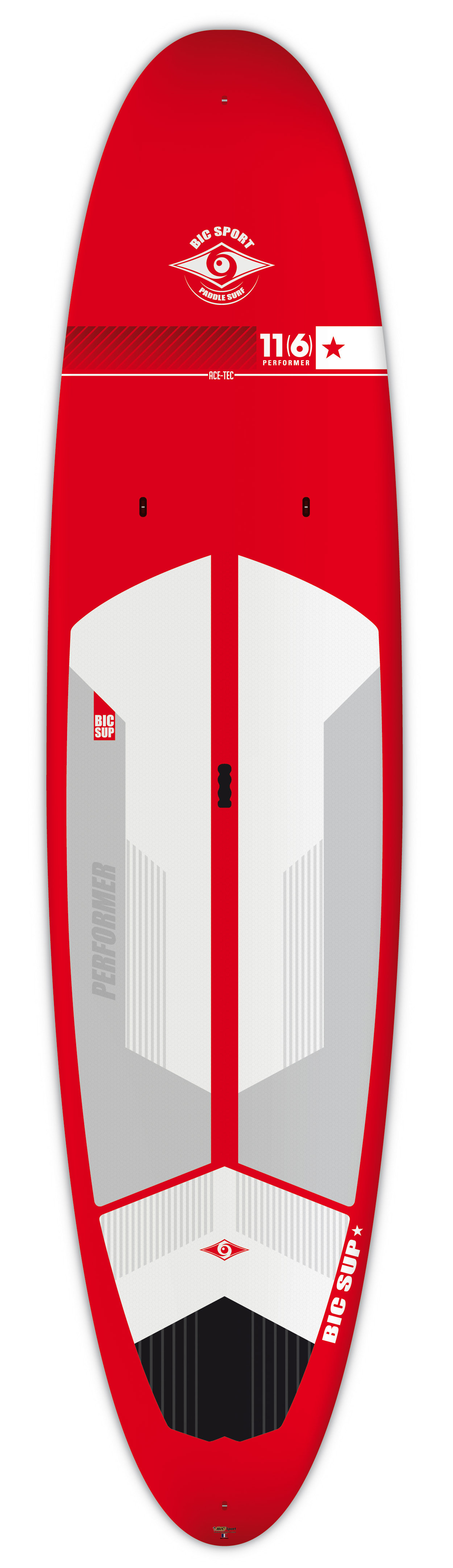 "Paddleboards: ACE-TEC 11'6"" Performer Red by BIC SUP - Image 4500"