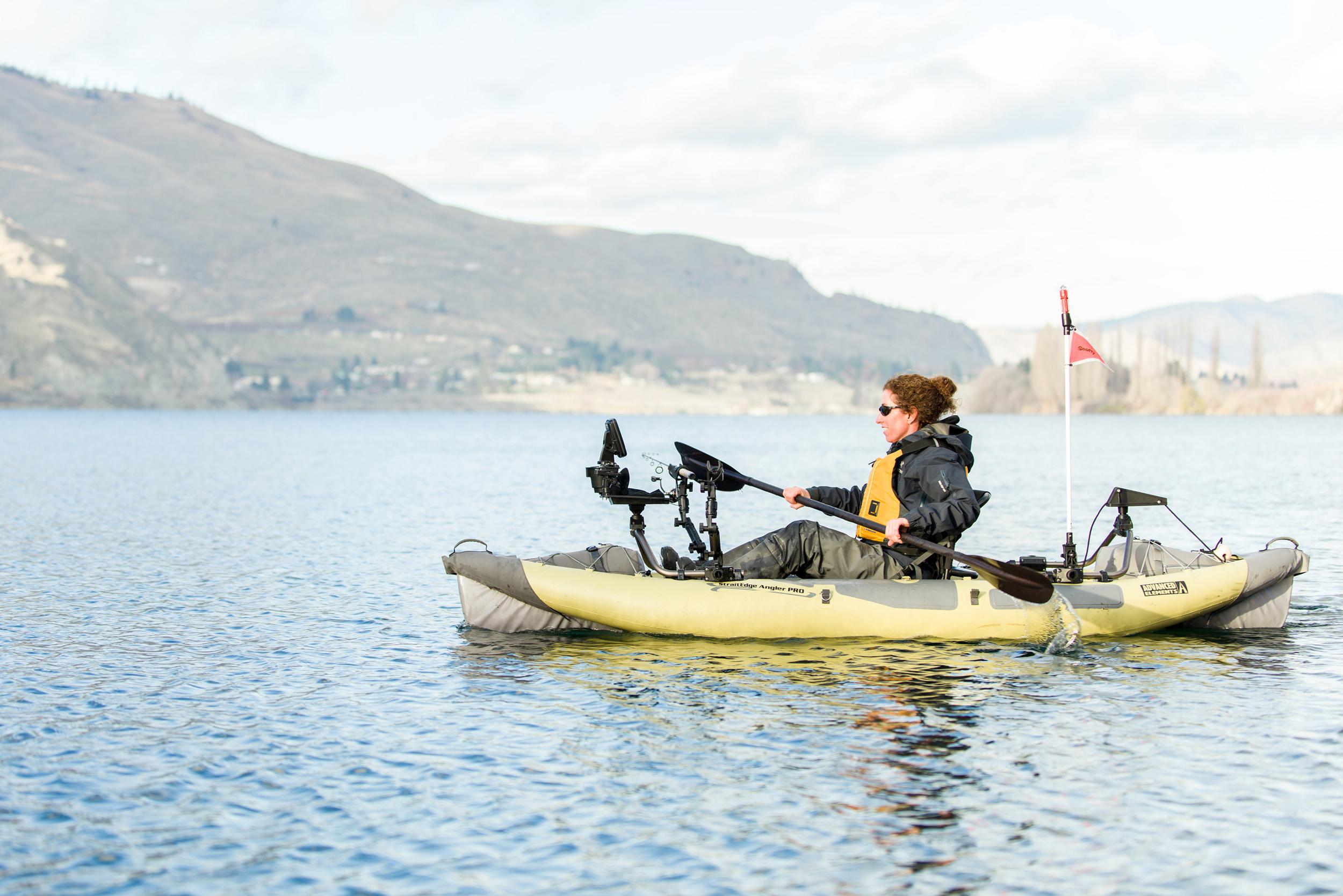 Kayaks: StraitEdge Angler PRO by Advanced Elements - Image 4514