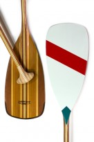 Canoe Paddles: Seagull - Painted Carbon-backed Gunflint by Sanborn Canoe Co. - Image 4537