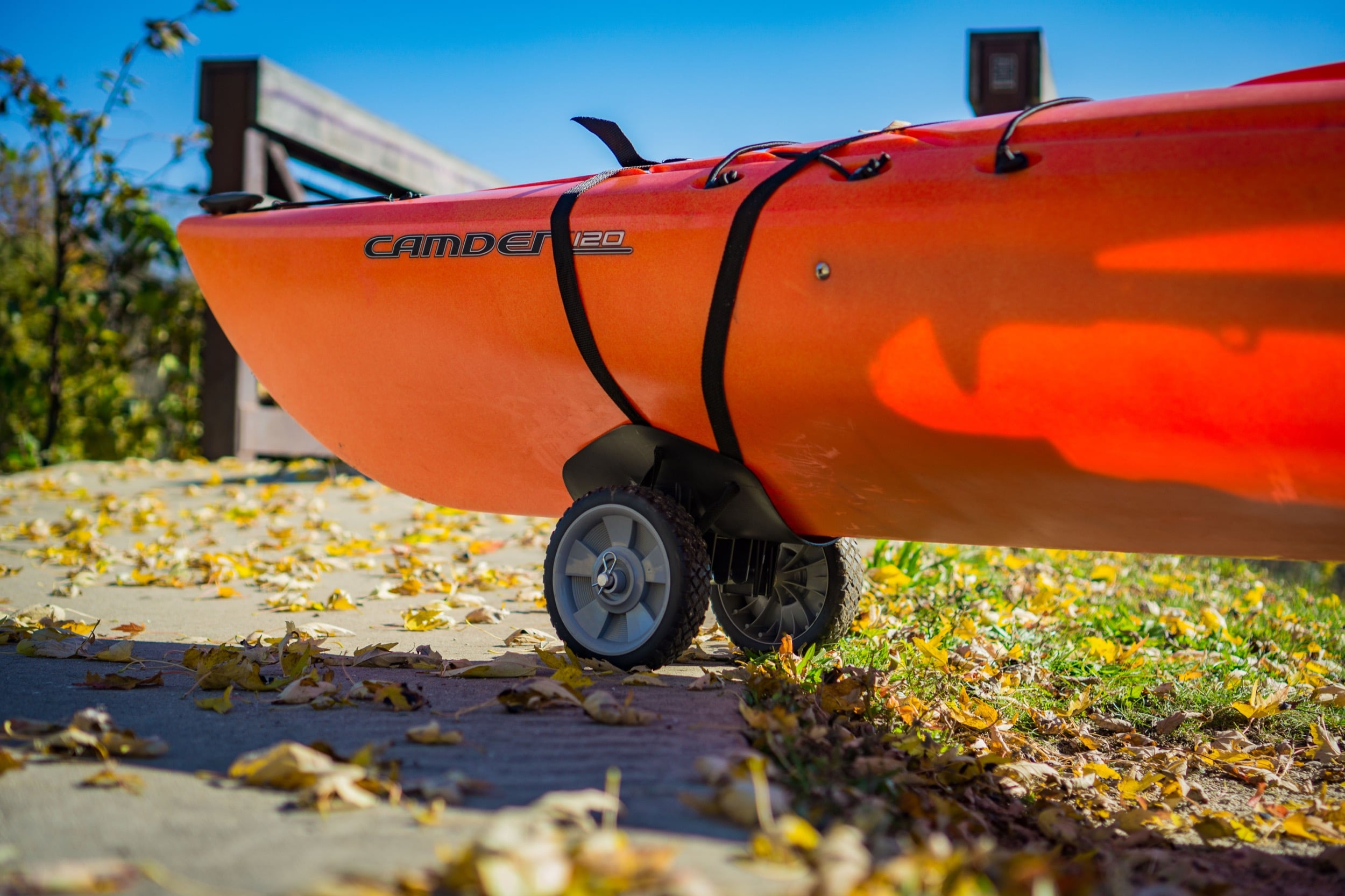 """Transport, Storage & Launching: KC7-Kayak Cart 7"""" Wheels by The Kayak Cart - Image 4578"""