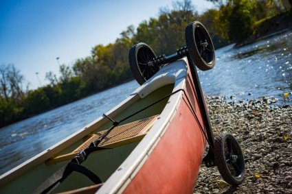 Transport, Storage & Launching: 4WH-Canoe Cart by The Kayak Cart - Image 4580