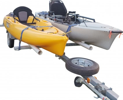 Transport, Storage & Launching: Kayak Fishing Trailers- Single - Double - Multiple -Storage- Gear-Bikes by North Woods Sport Trailers - Image 4036