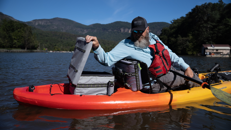 Perception Kayaks, Splash Seatback Cooler | Paddling Buyer's