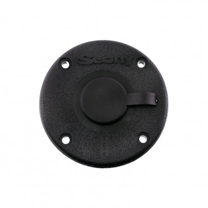Mounts, Tracks & Accessories: 344 Round Flush Mount by Scotty - Image 4165