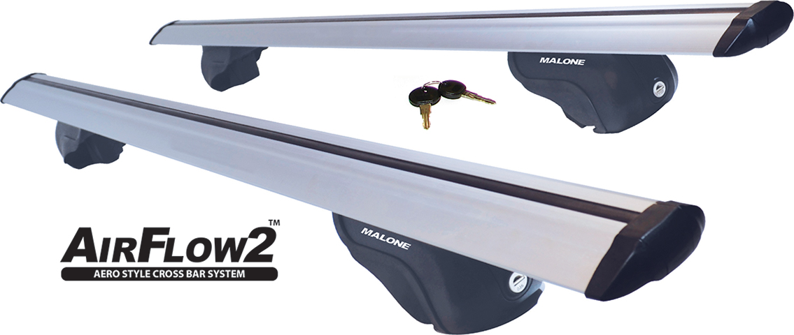 Transport, Storage & Launching: AirFlow2 Alum Aero Cross Rail System by Malone Auto Racks - Image 4171