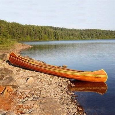 Canoes: Traditional Champlain by Bear Mountain - Image 2092
