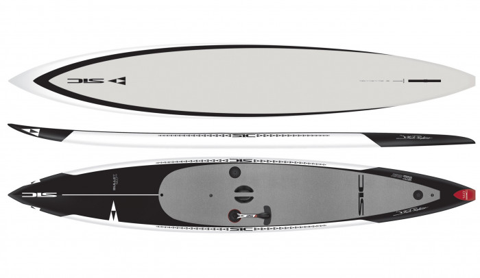 Paddleboards: Bullet 14' w/FAST Steering System by SIC - Image 4570