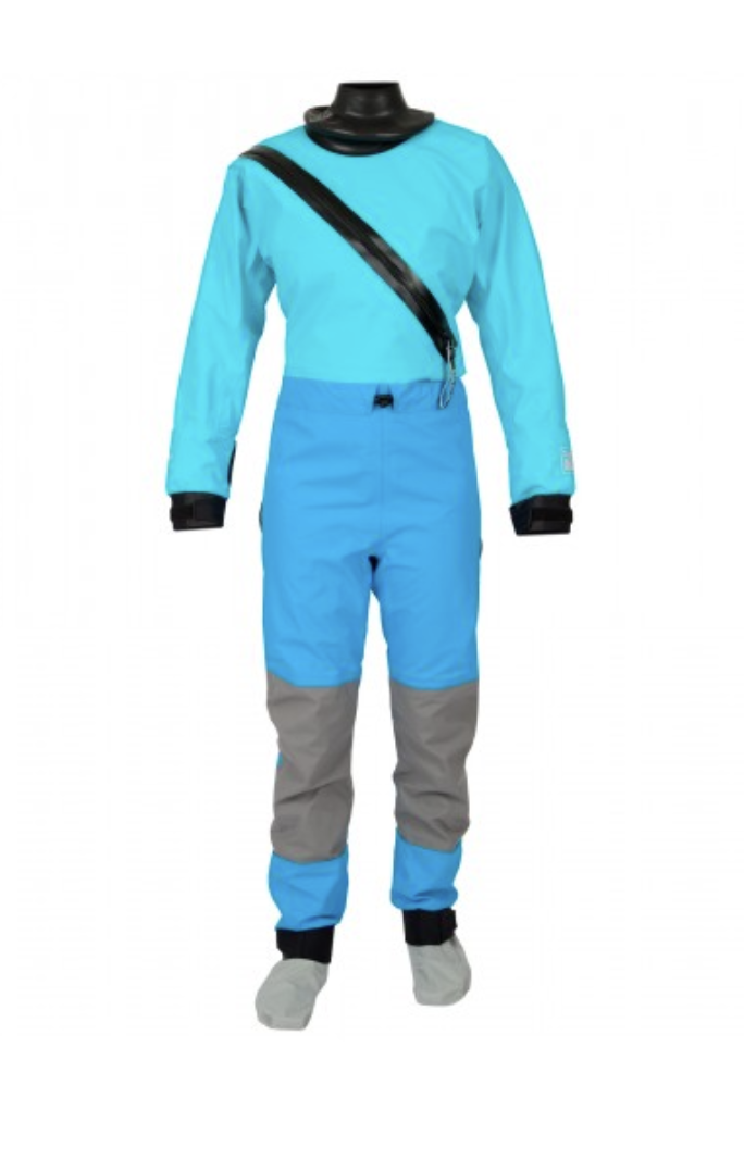 Technical Outerwear: Hydrus 3L Swift Entry Dry Suit with Dropseat and Socks- Women by Kokatat - Image 2182