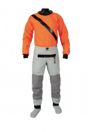 Technical Outerwear: Hydrus 3L Swift Entry Dry Suit with Relief Zipper and Socks- Men by Kokatat - Image 2183