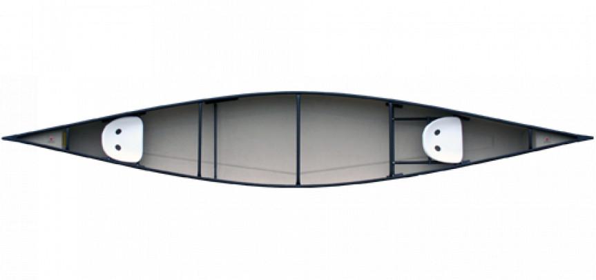 Canoes: 17' Jensen Custom Kevlar by Clipper - Image 2174