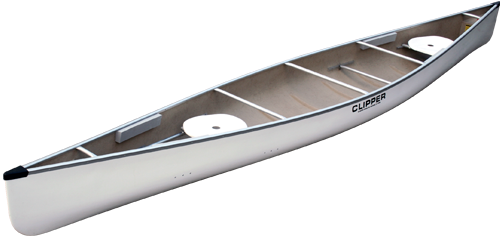 Canoes: 18' Jensen Stock FG by Clipper - Image 2178