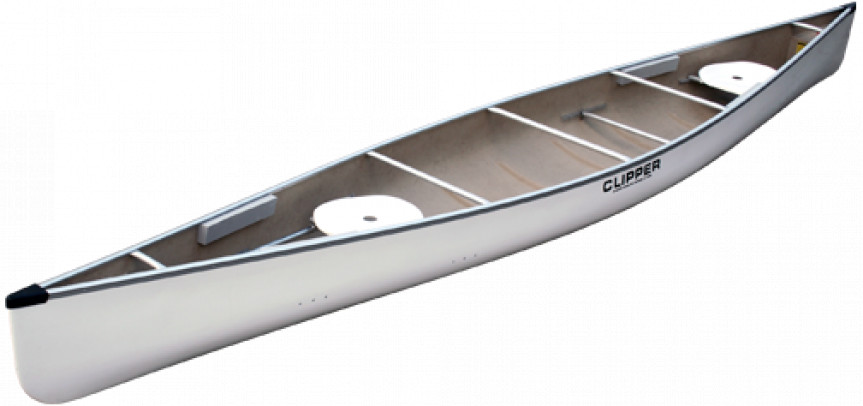 Canoes: 18' Jensen Stock Kevlar by Clipper - Image 2179