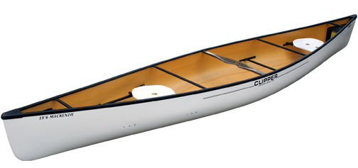 Canoes: MacKenzie 18'6 Ultralight by Clipper - Image 2173