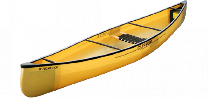 Canoes: Prospector 14' FG by Clipper - Image 2134