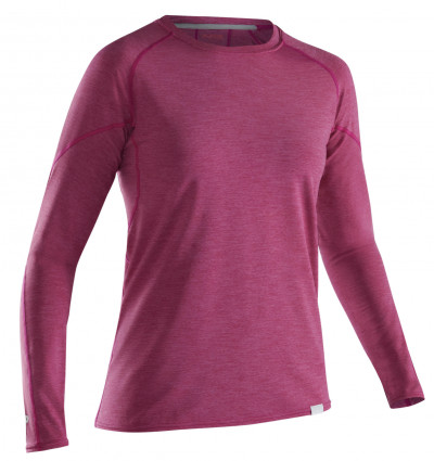 Layering: Women's H2Core Silkweight Long-Sleeve Shirt by NRS - Image 4837