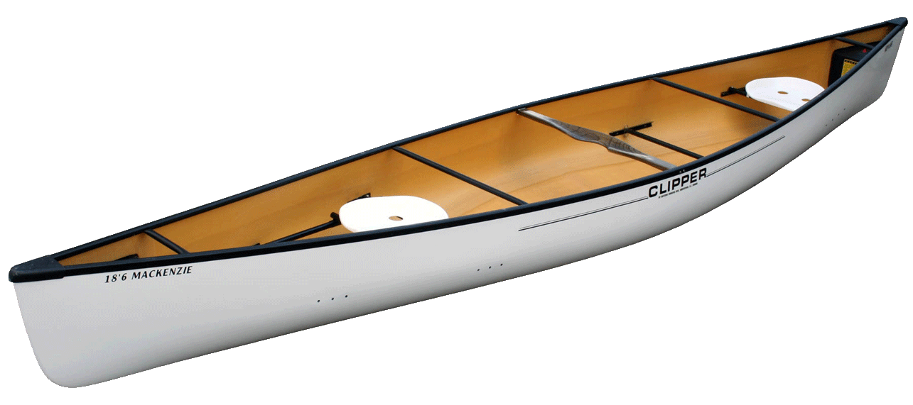 Canoes: MacKenzie 18'6 FG by Clipper - Image 2193