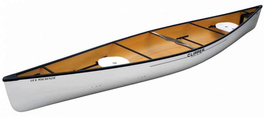 Canoes: MacKenzie 18'6 Kevlar by Clipper - Image 2212