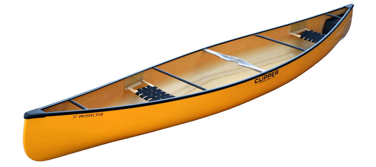 Canoes: Prospector 17' Kevlar/Duraflex by Clipper - Image 2220