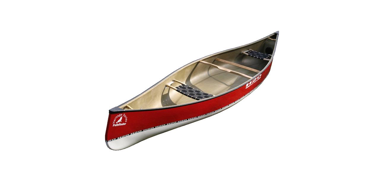 Canoes: Pathfinder 16 by H2O Canoe Company - Image 2307