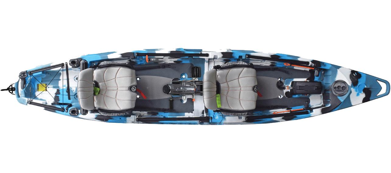 Kayaks: Lure II Tandem Overdrive by Feelfree Kayaks - Image 2665