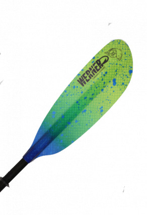 Kayak Paddles: Hooked Adjustable Camano by Werner Paddles - Image 3720