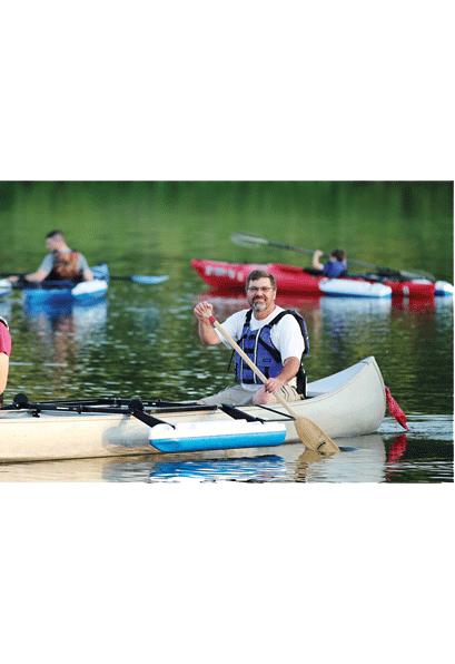 Rigging & Outfitting: Canoe Styrigger by Crane Creek Kayaks - Image 3987