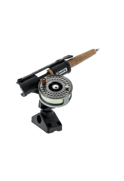 Mounts, Tracks & Accessories: 265 Fly Rod Holder w/ Combination Side/Deck Mount by Scotty - Image 4153