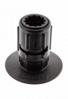 """Mounts, Tracks & Accessories: 3"""" Stick-On Accessory Mount w/ Gear-Head by Scotty - Image 4163"""